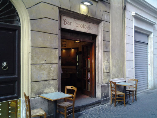 bar dell orologio roma