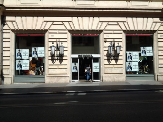 Barbour Roma Via Del Corso
