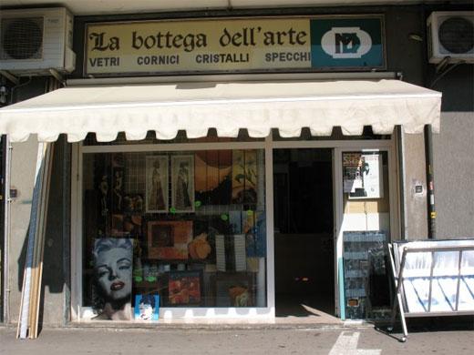 La bottega dell 39 arte di massimiliano d 39 antonio botteghe artigiane cornici quadri specchi - Cornici specchi roma ...
