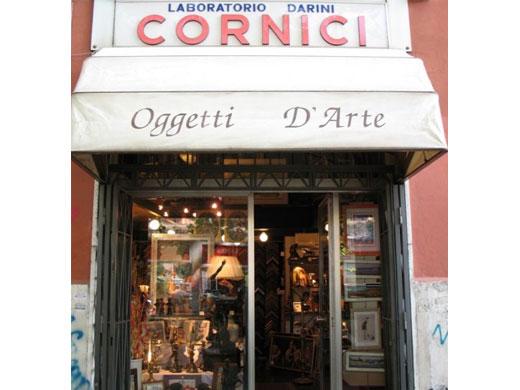 Modesto darini cornici botteghe artigiane cornici quadri specchi attivit - Cornici specchi roma ...