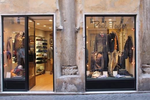 Negozi abbigliamento uomo classico roma