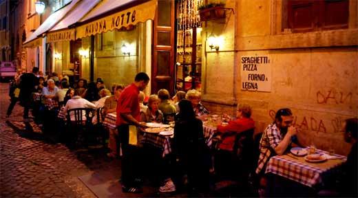 Ristorante pizzeria navona notte ristoranti pizzerie for Ristorante filippo la mantia roma