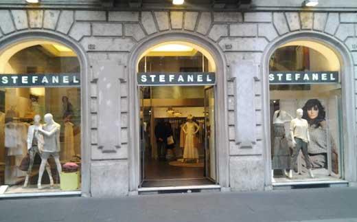 Stefanel via del corso abbigliamento abbigliamento for Corso roma abbigliamento